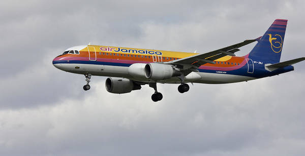 Photograph - Air Jamaica by Nick Mares