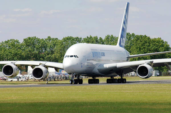 Wall Art - Photograph - Airbus A380 by Science Photo Library