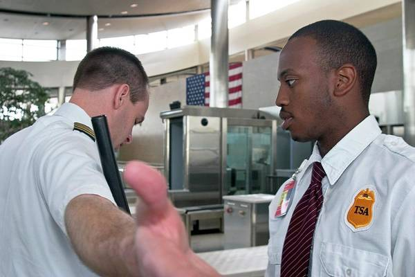 Metro Detroit Photograph - Airport Security by Jim West