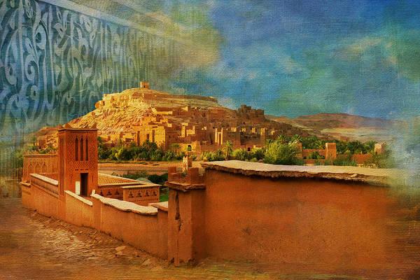 Wall Art - Painting - Ait Benhaddou  by Catf