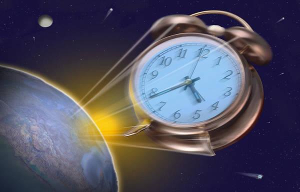 Alarm Clock Photograph - Alarming Reaction by Mike McGlothlen