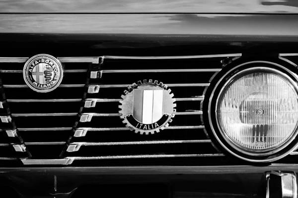 Photograph - Alfa-romeo Grille Emblem by Jill Reger