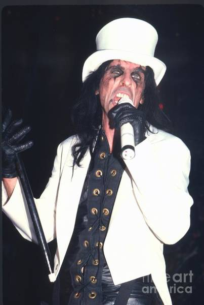 Alice Cooper Photograph - Alice Cooper by David Plastik