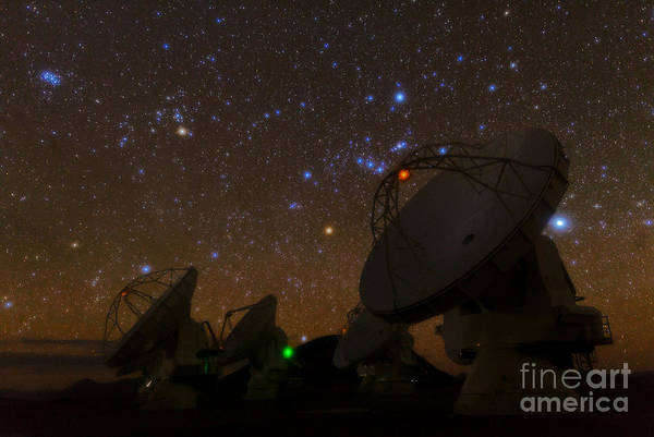 Photograph - Alma Radio Astronomy by Babak Tafreshi
