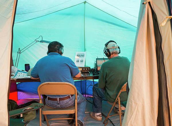 Livonia Photograph - Amateur Radio Operators by Jim West