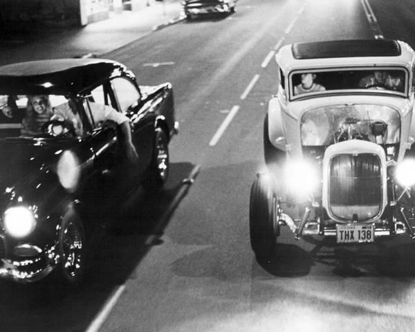 Le Photograph - American Graffiti  by Silver Screen