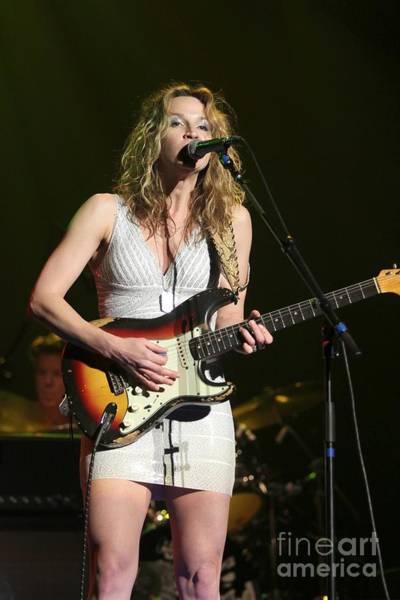 Waterbury Photograph - Guitarist Ana Popovic by Concert Photos