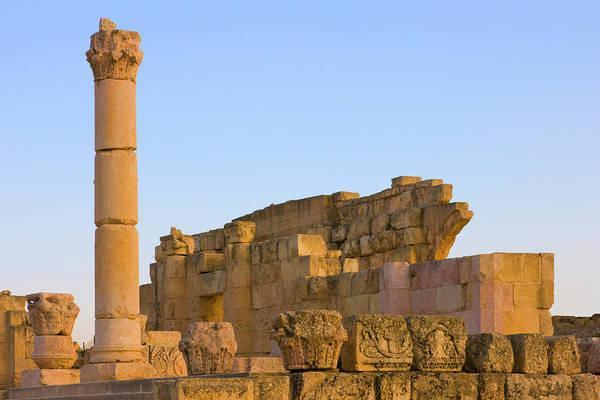 Jerash Photograph - Ancient Jerash Ruins, Amman, Jordan by Keren Su