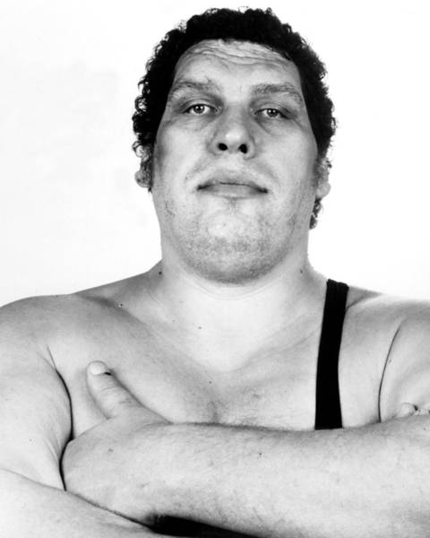 Wall Art - Photograph - Andre The Giant by Retro Images Archive