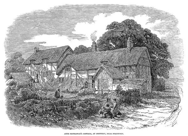 Wall Art - Painting - Anne Hathaway's Cottage by Granger