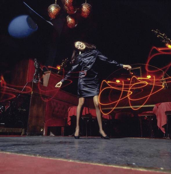 Wall Art - Photograph - Annie Buron-fosse Dancing In Miss Dior by Arnaud de Rosnay