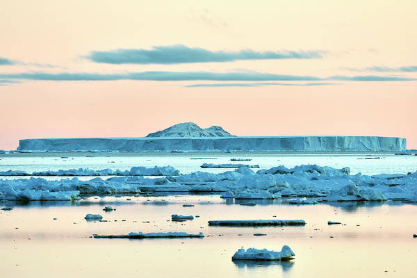 Ice Floes Wall Art - Photograph - Antarctic Iceberg by Dr P. Marazzi