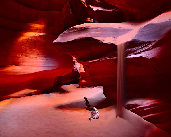 Photograph - Antelope Canyon by Walt Sterneman