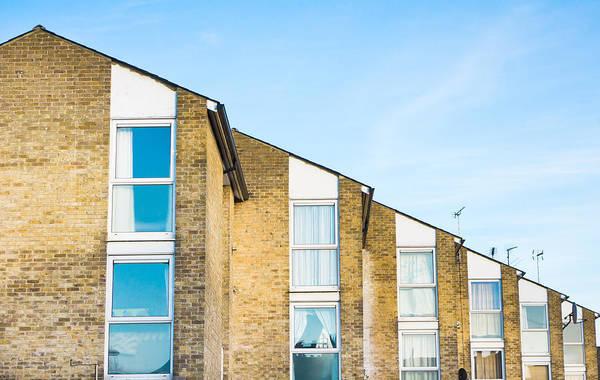 Housing Development Photograph - Apartments by Tom Gowanlock