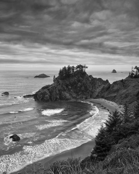 Sea Stacks Wall Art - Photograph - Approaching Storm by Andrew Soundarajan
