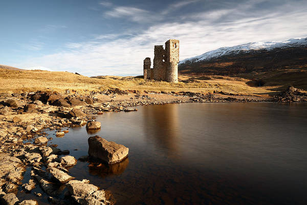 Photograph - Ardvreck Castle  by Grant Glendinning