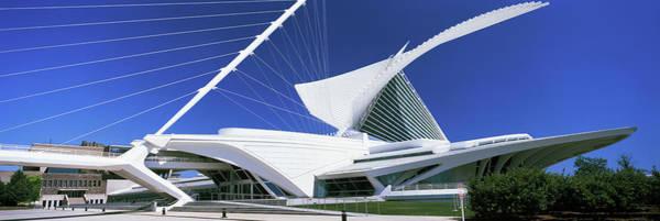 Milwaukee Art Museum Photograph - Art Museum, Milwaukee Art Museum by Panoramic Images