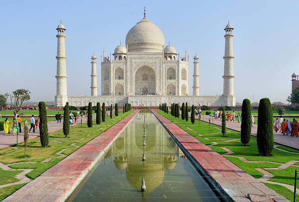 Minarets Photograph - Asia, India, Uttar Pradesh, Agra by Steve Roxbury