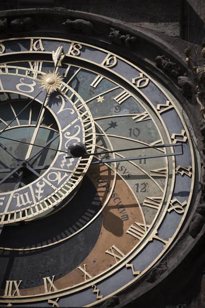 Astronomical Clock Prague Art Print