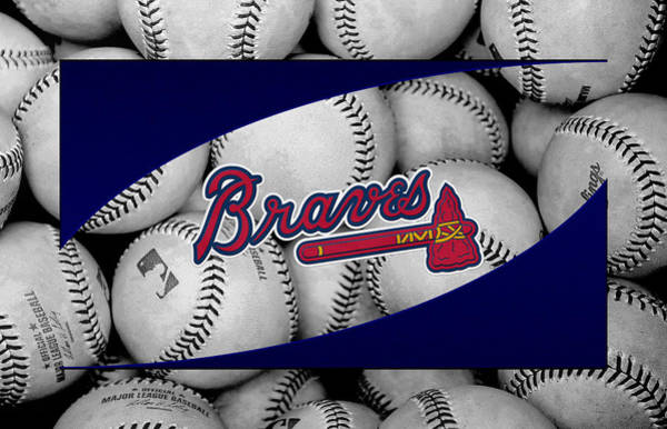 Brave Wall Art - Photograph - Atlanta Braves by Joe Hamilton