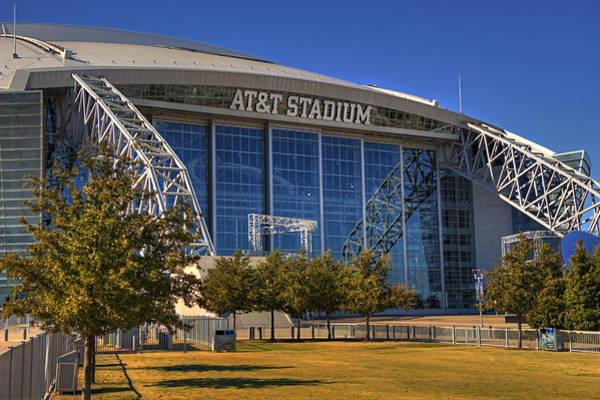 Dallas Cowboys Photograph - Att Stadium 4 by Ricky Barnard