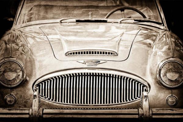 Healey Photograph - Austin-healey 300 Mk II by Jill Reger