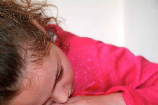 Disorder Photograph - Autistic Girl by Hannah Gal