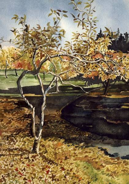 Painting - Autumn by Alfred Ng
