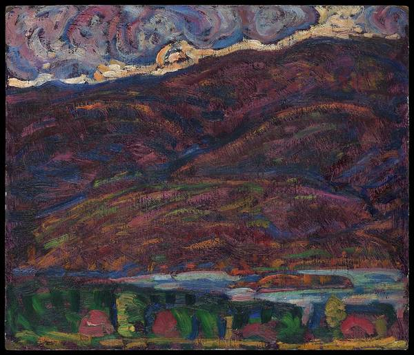 Central America Painting - Autumn Color by Marsden Hartley