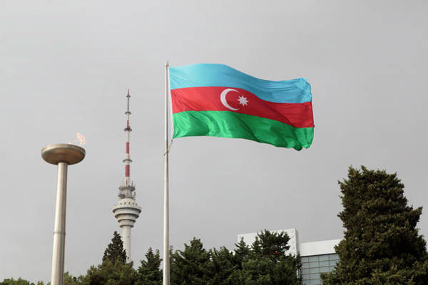 Azerbaijan, Baku Art Print