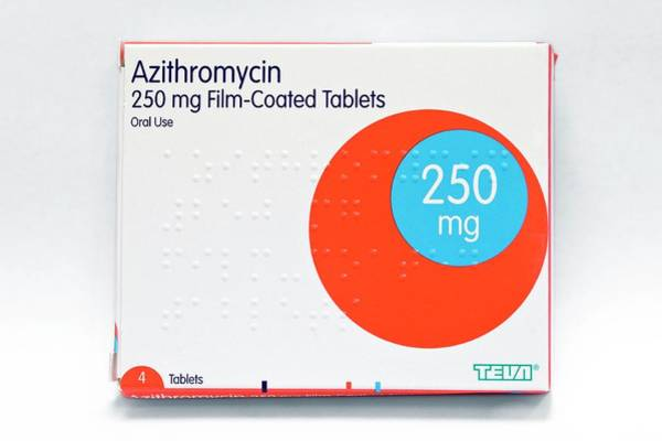 Branding Photograph - Azithromycin Antibiotic Drug by Dr P. Marazzi/science Photo Library