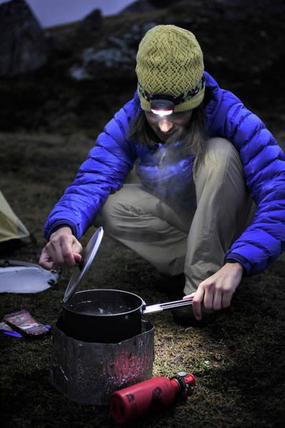 Wall Art - Photograph - Backpacking In Alaska Talkeetna by HagePhoto
