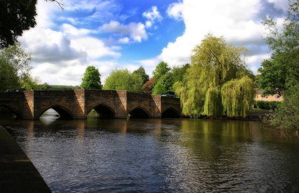 Photograph - Bakewell Bridge - Over The River Wye - Peak District - England by Doc Braham