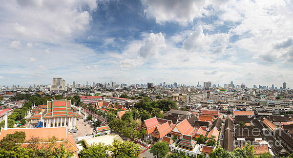 Photograph - Bangkok Panorama by Didier Marti