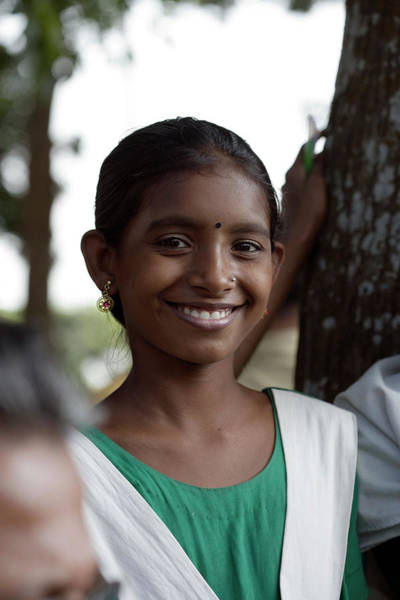 Wall Art - Photograph - Bangladeshi Girl by Adam Hart-davis/science Photo Library