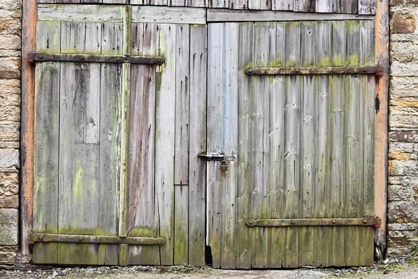 Latch Wall Art - Photograph - Barn Door by Tom Gowanlock