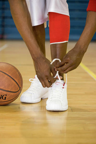 Trainer Photograph - Basketball Player by Gustoimages/science Photo Library