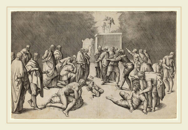 Wall Art - Drawing - Battista Franco Italian, Probably 1498-1561 by Litz Collection
