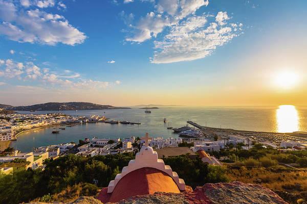 Photograph - Bay Of Mykonos, Greece by Deimagine