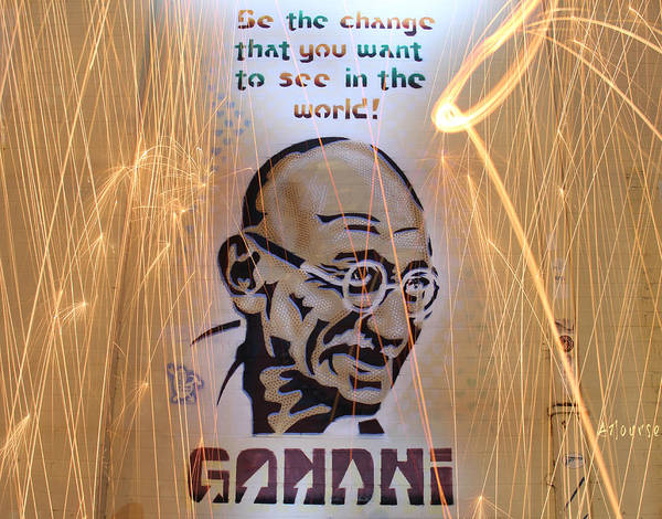 Wall Art - Photograph - Be The Change  by Andrew Nourse