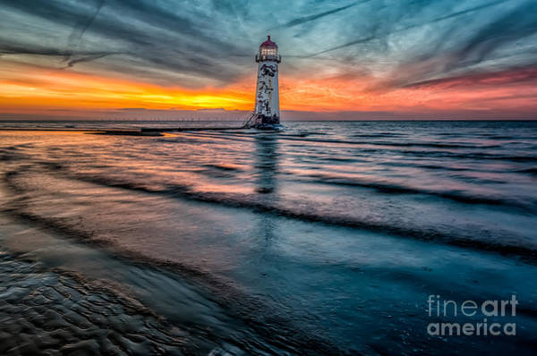 Wall Art - Photograph - Beach Sunset by Adrian Evans