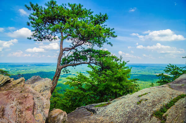 Photograph - Beautiful Aerial Landscape Views From Crowders Mountain North Ca by Alex Grichenko