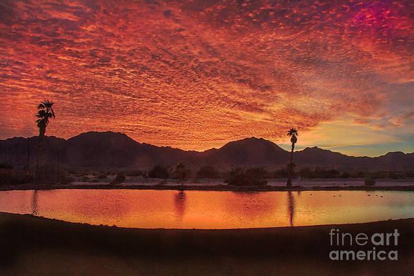 Yuma Photograph - Beautiful Southwest Sunrise by Robert Bales