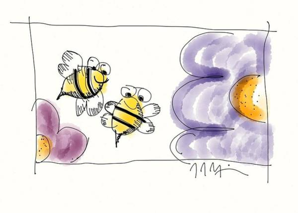 2 Bee Or Not To Bee Art Print