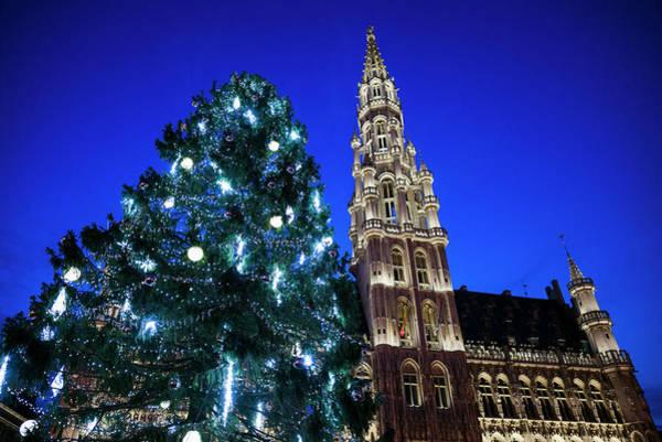 Belgian Photograph - Belgium, Brussels by Walter Bibikow