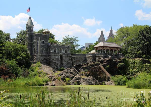 Photograph - Belvedere Castle Central Park by Jemmy Archer