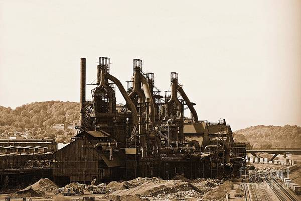 Photograph - Bethlehem Steel by Marcia Lee Jones