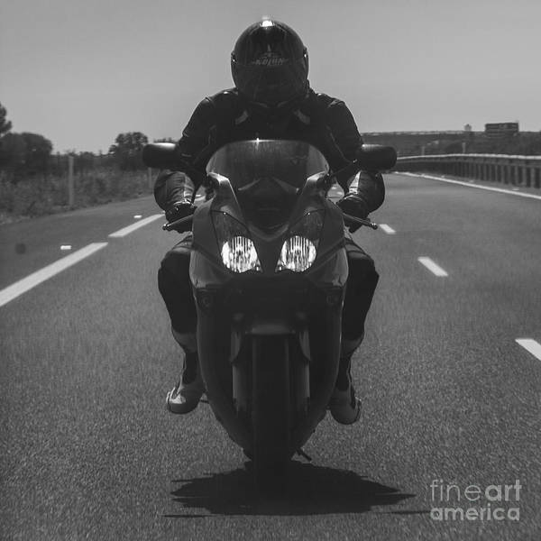 Wall Art - Photograph - Biker by Eugenio Moya