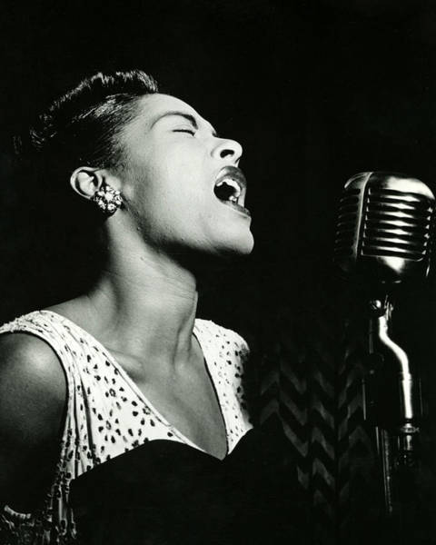 Famous Wall Art - Photograph - Billie Holiday by Retro Images Archive