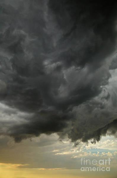 Photograph - Billowing Clouds At Sunset North Dakota by Yva Momatiuk John Eastcott